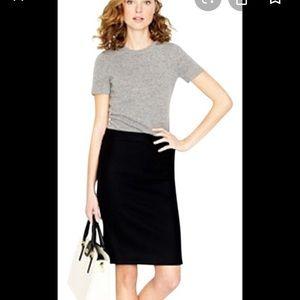 JCrew Wool No. 2 Pencil Skirt